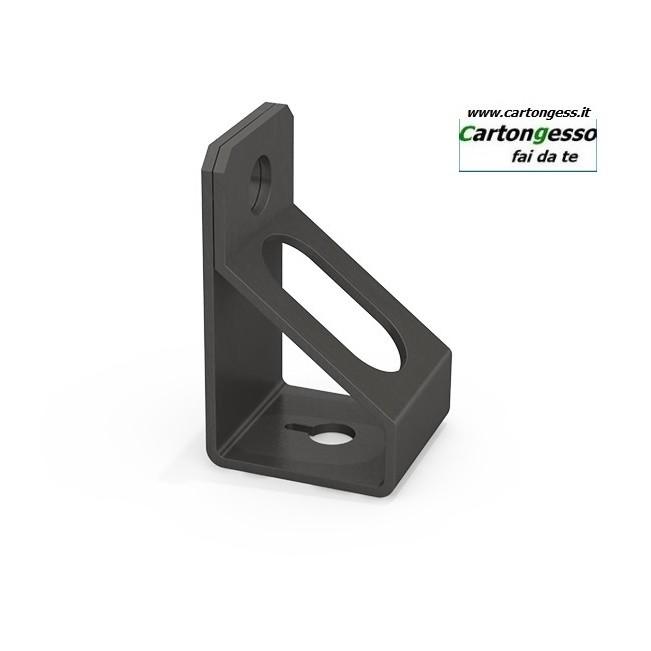 Supporto in acciaio fosfatato verticale