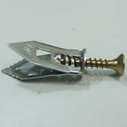 Tassello in acciaio per lastre cartongesso 6