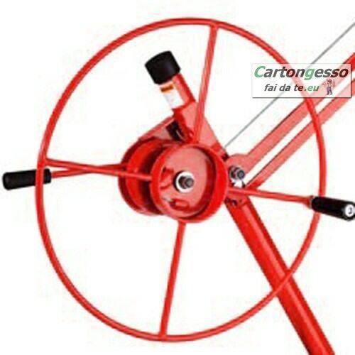 Carrello alzalastre telescopico professionale a 3 ruote-5