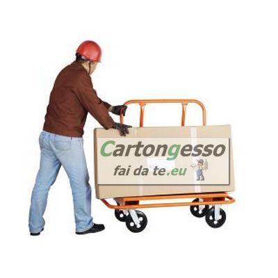Carrello da cantiere porta lastre Dolly10 - trasporto