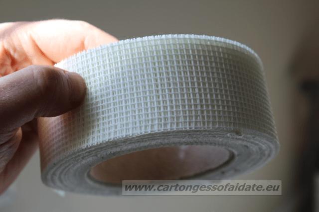 nastro rete per stuccatura cartongesso 2