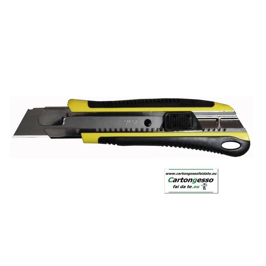 Cutter 08GH1 autobloccante e lama in acciaio