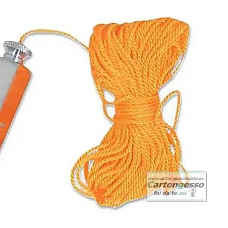 Filo per muratore arancio 2