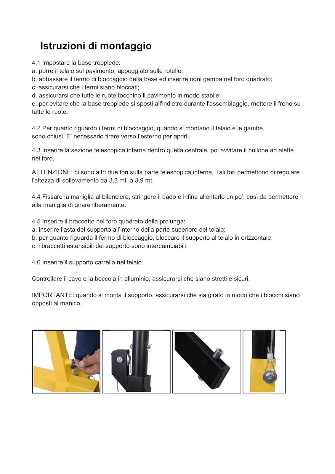 Manuale particolare 2 solleva lastre cartongesso