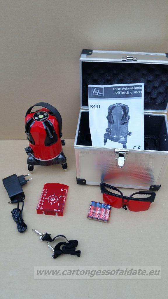 R441 laser cartongesso