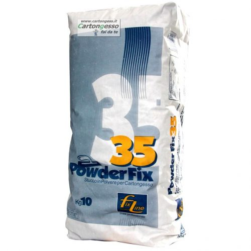Stucco in polvere per cartongesso PowderFix35