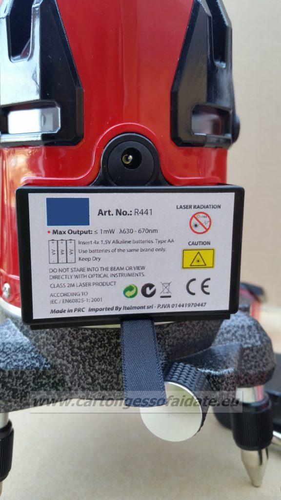 livella lasera R441-b