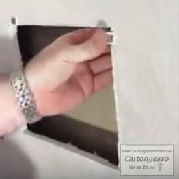 Botola magnetica per cartongesso - applicazione 2