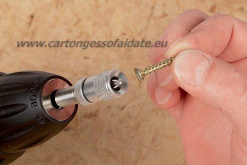 Portainserto regolabile magnetico