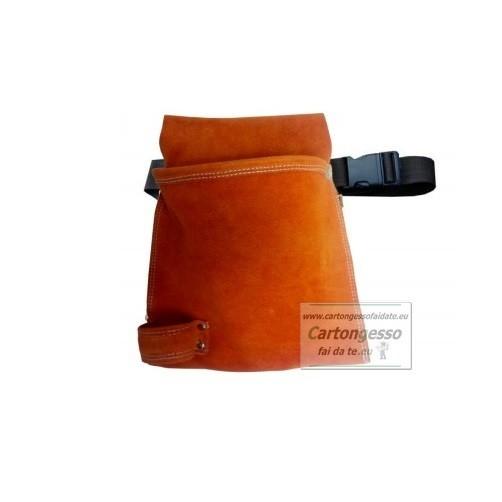 Cintura singola in pelle scamosciata P552