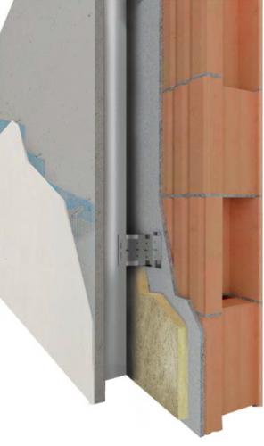 facciata ventilata esterna in fibrocemento