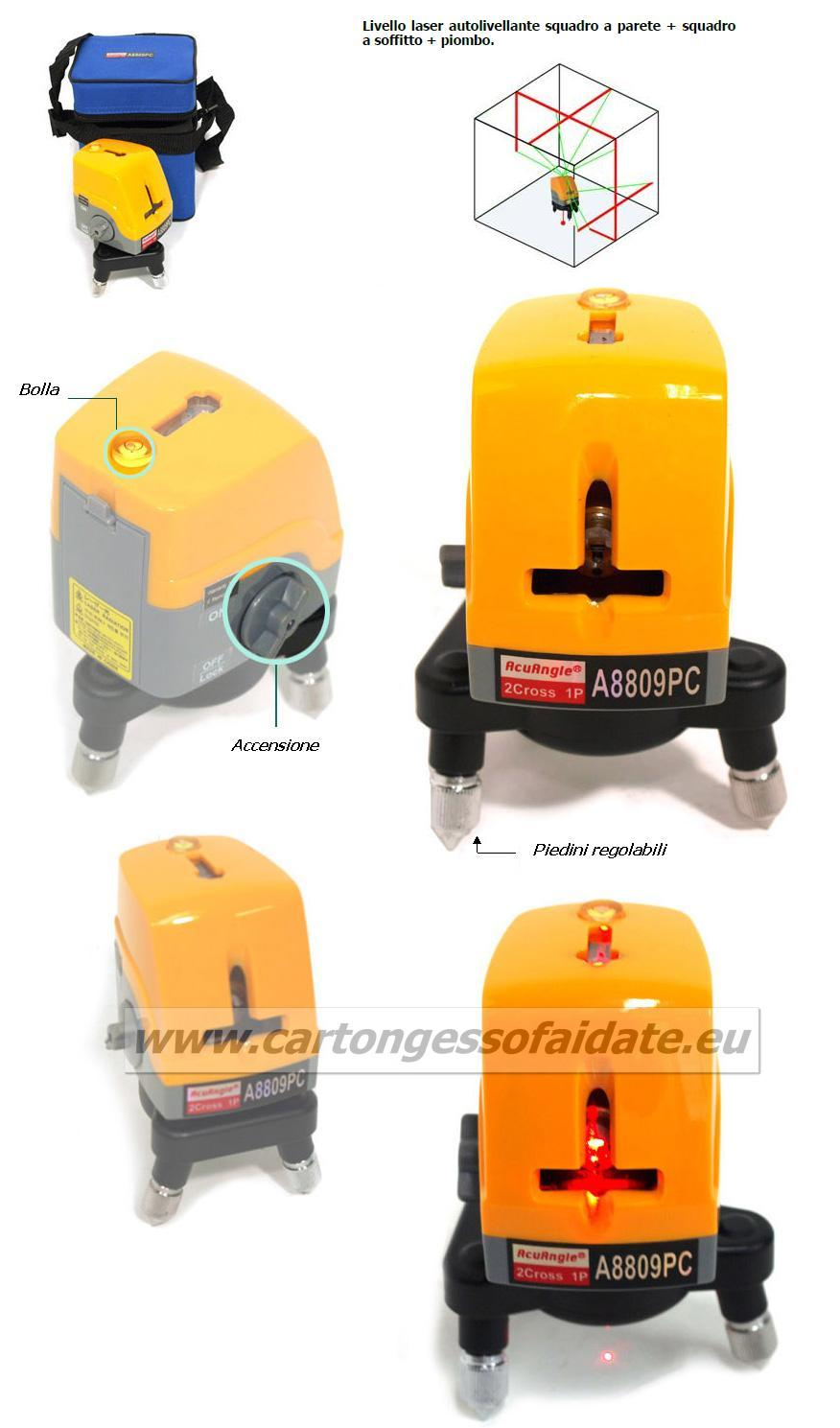 Laser autolivellante A8816PC