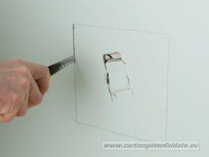 riparare cartongesso 2