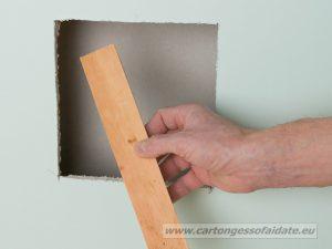 riparare cartongesso 3