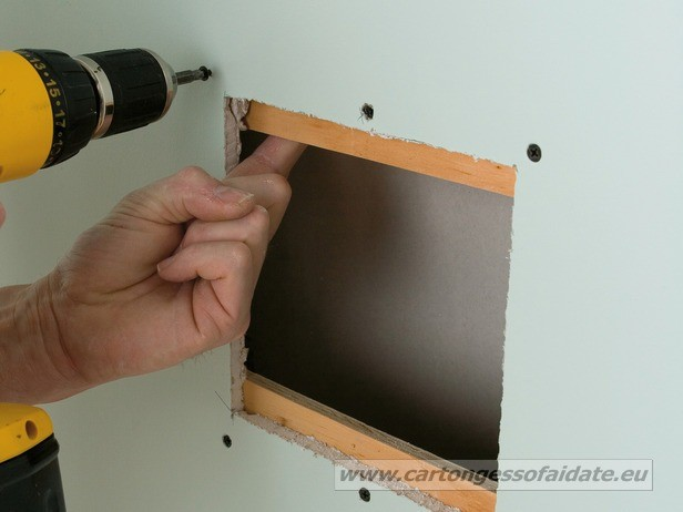 riparare cartongesso 4