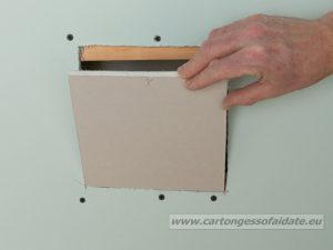 riparare cartongesso 5