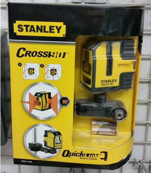 Confezione cross90 lasera Stanley