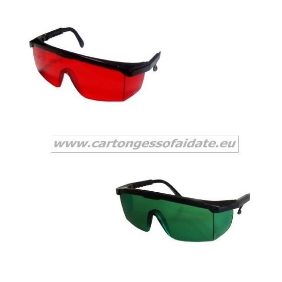 Occhiali protettivi per laser - Scheda