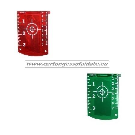 Squadretta magnetica per laser - target