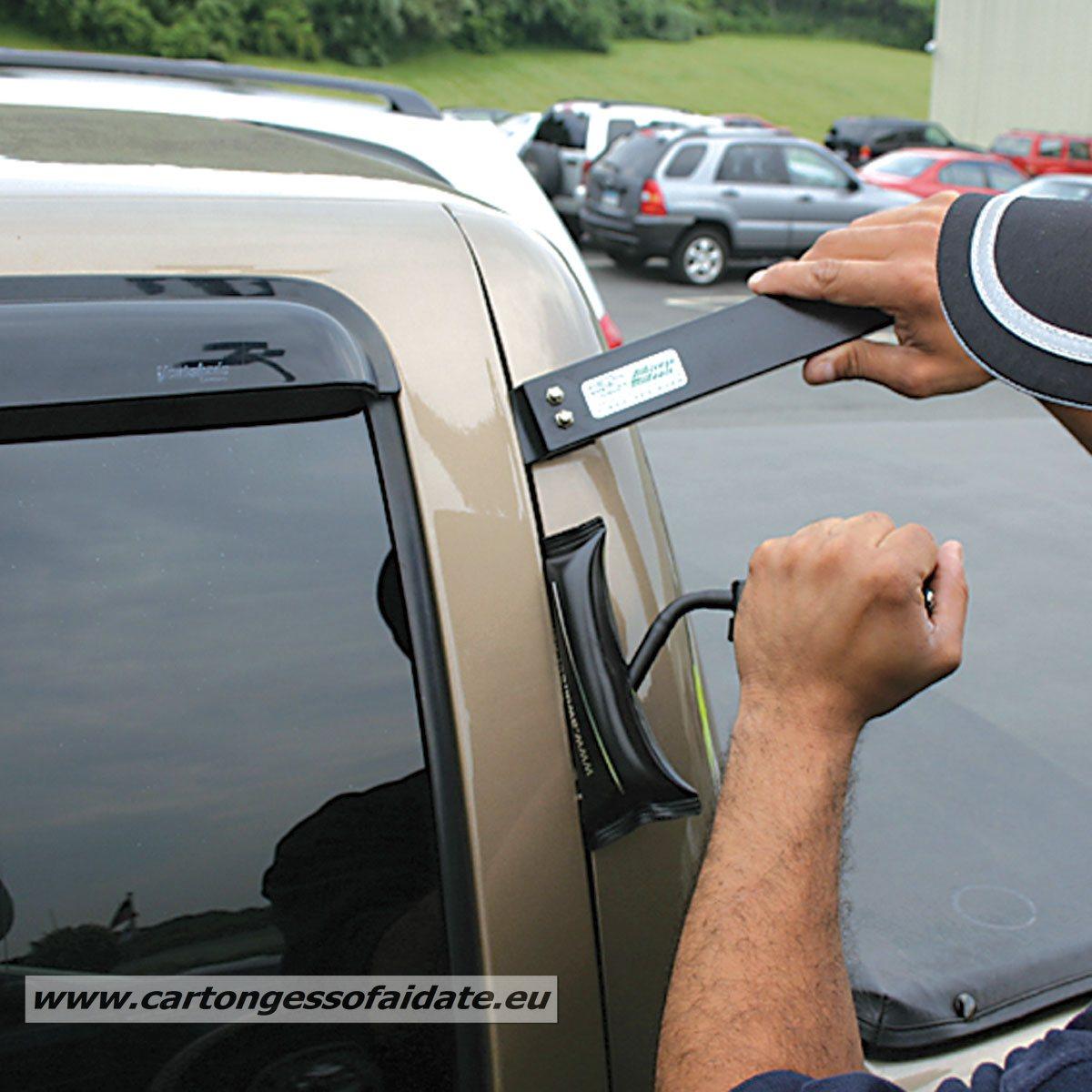 cuscinetto gonfiabile per apertura auto