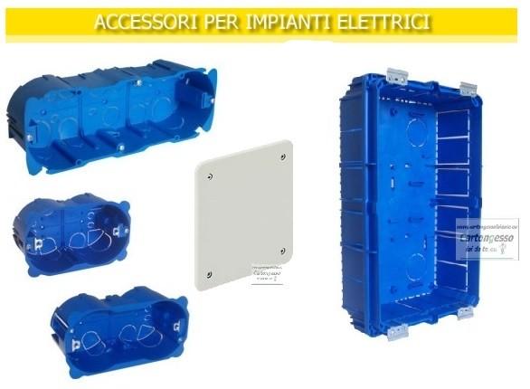 Accessori per impianti elettrici, luci, led