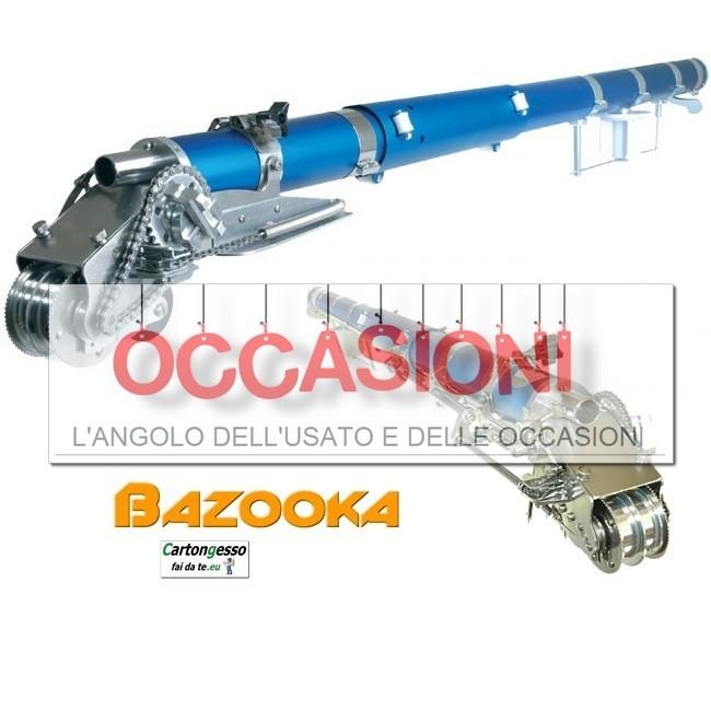 Bazooka usato per cartongesso