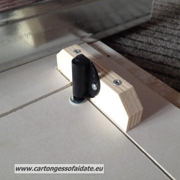 chiusura magnetica botola da parete