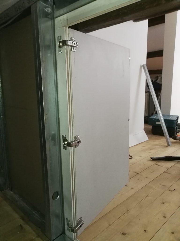 r  -  cerniere apertura parete carton gesso