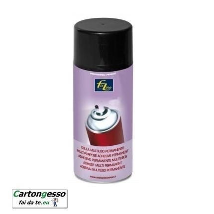 Spray colla multiuso permanente