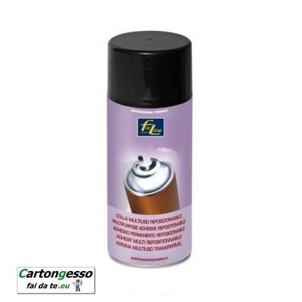 Spray colla riposizionabile