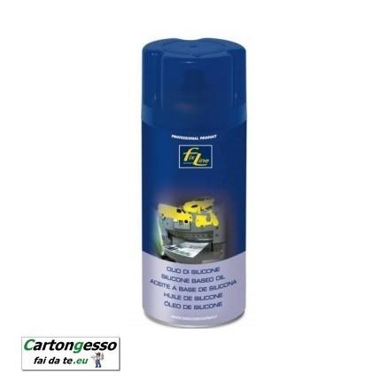 Spray olio di silicone