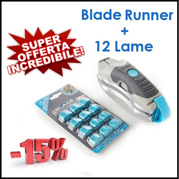 offerta blade runner con lame