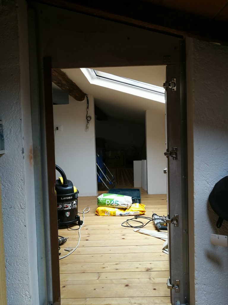 porta parete drywall