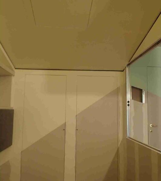 Blocco anta e blocco porta invisibile cartongesso fai da te - Porta di cartongesso ...
