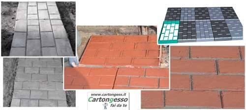 cotto e mattoni per giardino
