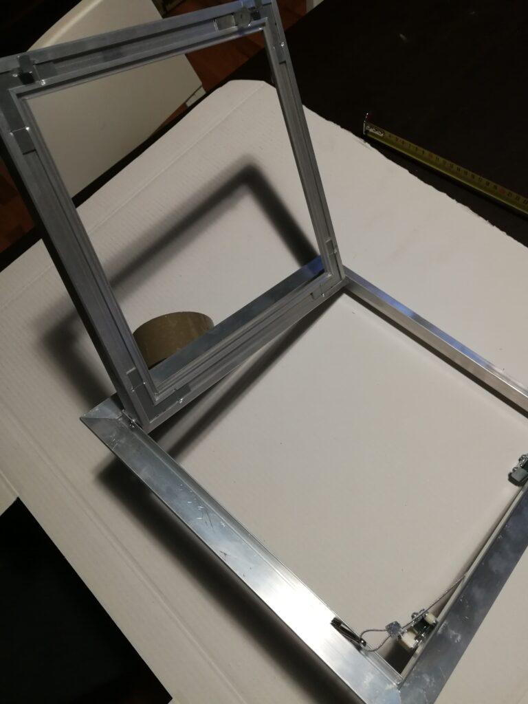 cartongesso drywall sportello anta ispezione