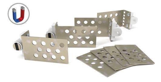 set piastre magnetiche per piastrelle