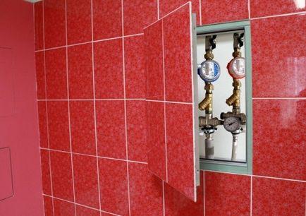 botola bagno ceramica cartongesso muro