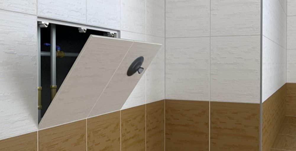 botola magnetica per bagno e muratura