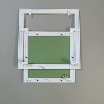 sportello cartongesso alluminio ispezione