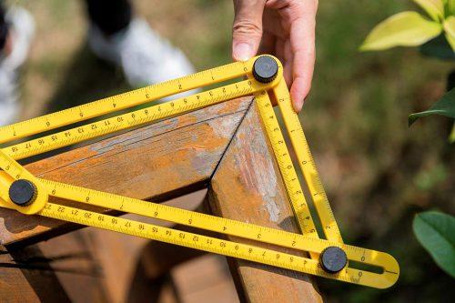 misuratore righello angolare
