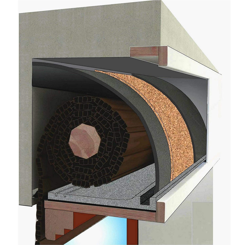 tappetino PLUS con sughero per coibentazione termica e acustica per cassonetti finestre