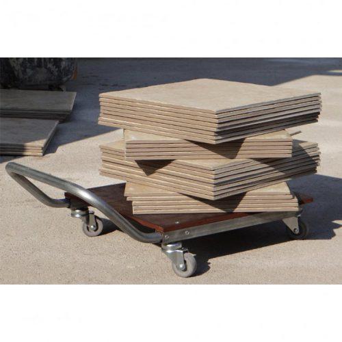 carrello per trasporto materiale edile
