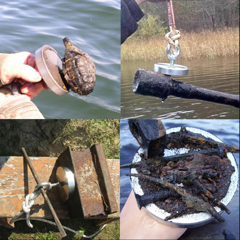 potente magnete calamita pesca