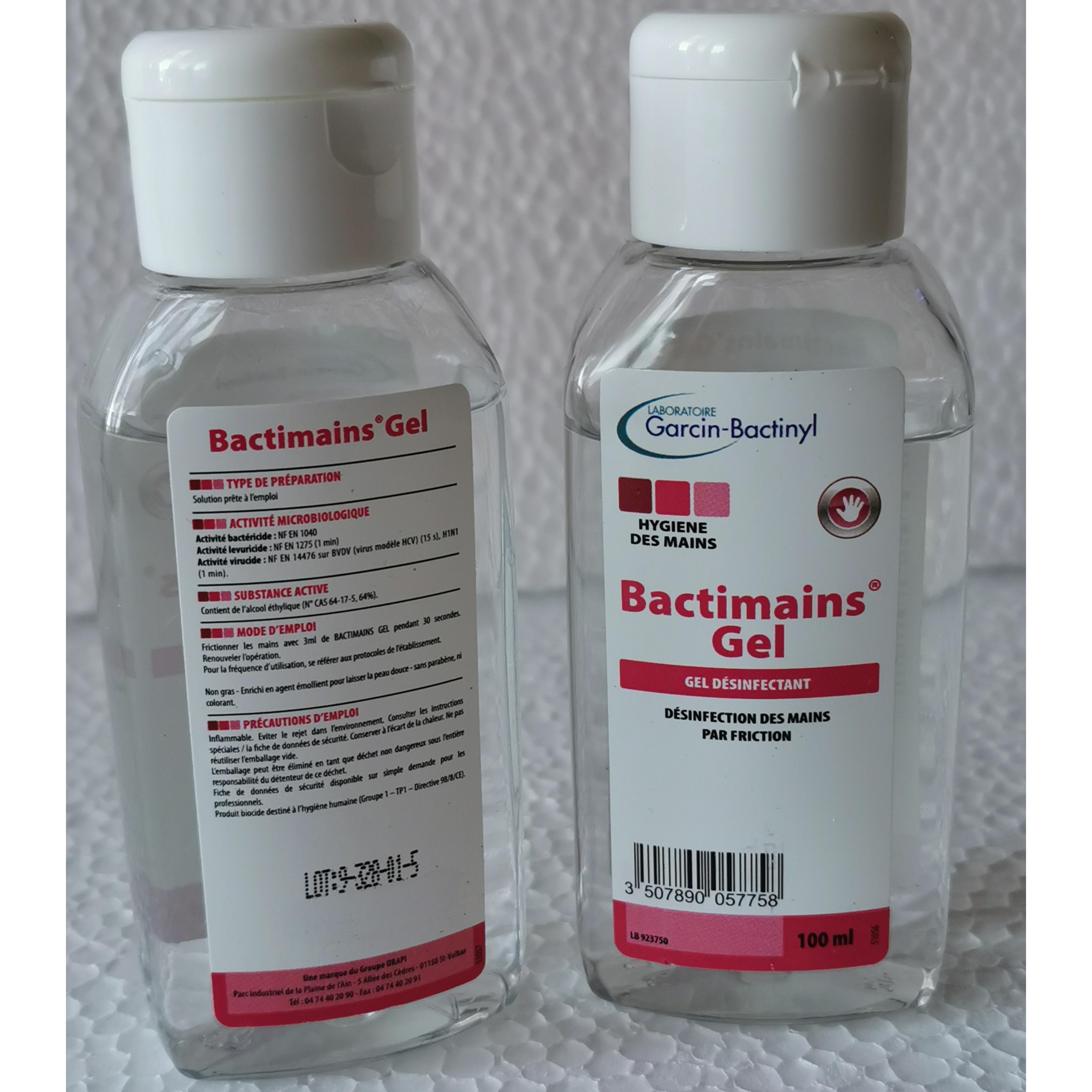 descrizione bactimains 100 ml igienizzante