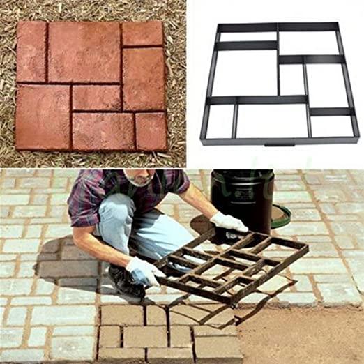 matrice per mattonelle da giardino