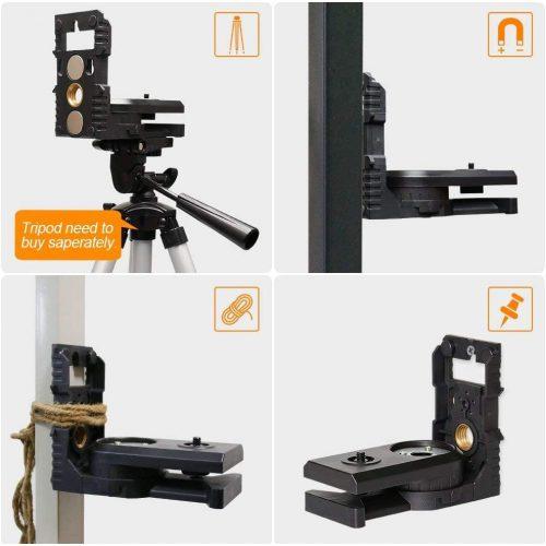 Laser Level Adapter con Filettatura maschio 14-20, Filettatura Femmina 14-20 e 58-11