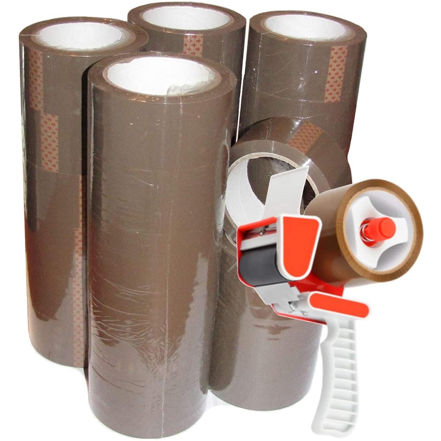 50 rotoli nastro adesivo con dispender