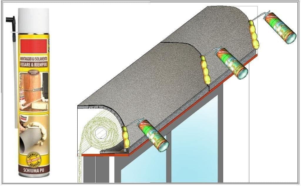 schiuma per coibentazione termica acustica