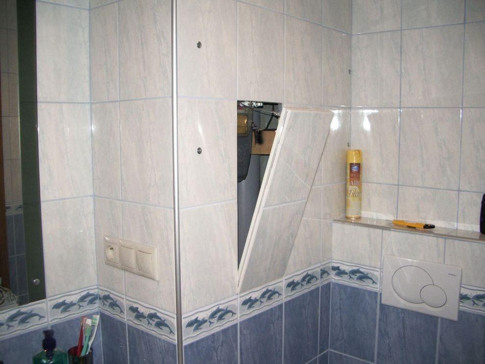 botola drywall per ispezionare cartongesso e impianti bagno e cucina parete